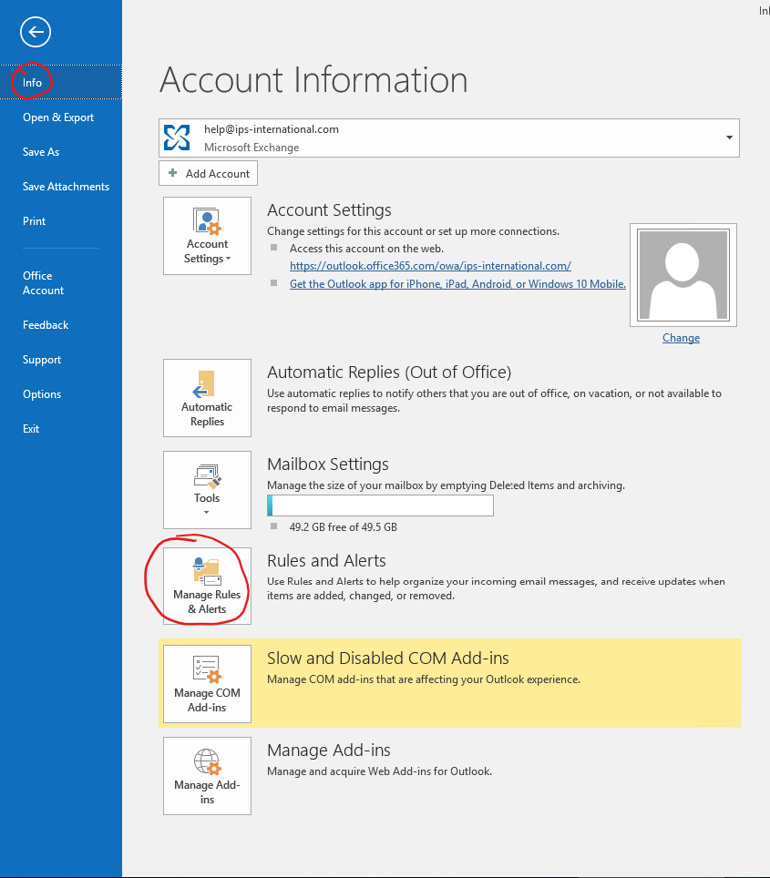 outlook-manage-rules
